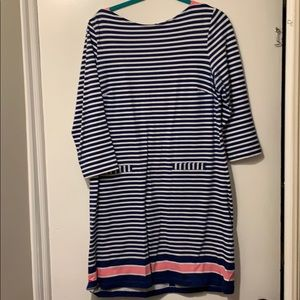 Lilly Pulitzer Striped French Terry Dress